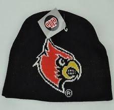 Louisville Cardinals Uncuffed Large Logo Beanie Hat