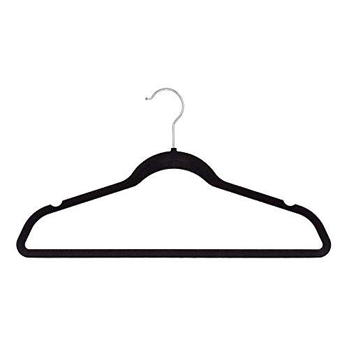 Reinforced Lightweight & Durable Velvet Non-Slip Suit Clothes Hangers (200 Pack) by Home & Loft