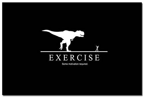 Twenty-three Do Exercise Funny Bodybuilding Motivational canvas poster 24X36 Inch