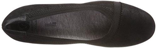 Negro Tacón Zapatos Synthetic Dash Caddell Black para Mujer de Clarks I0anx6B