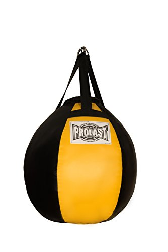Prolast Filled Boxing MMA Muay Thai Wrecking Ball Heavy Punching Bag + (Made in USA) (Wrecking Ball Best Cover)