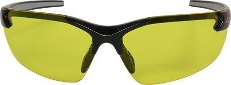 Edge Eyewear Yellow Safety Glasses, Scratch-Resistant, Half-Frame
