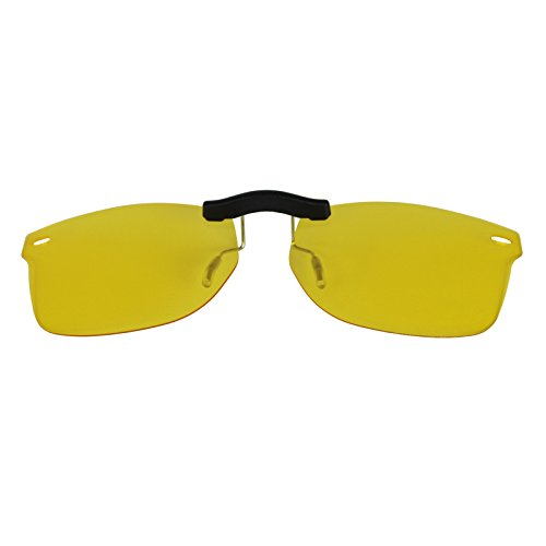 Custom Polarized Clip On Sunglasses for Ray-Ban RB5228 (RX5228) 50-17-140(No Frame) night vision - Rb5228 On Clip