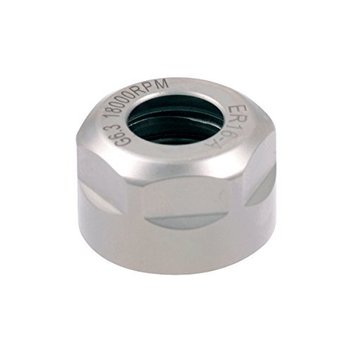 Pro Series by HHIP 3900-0685 Collet Chuck Nut, A-Type Er11, 18000 rpm, 19 mm