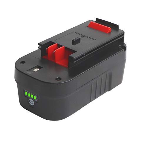 【Upgrade】 Sankeup HPB18 18Volt Lithium-ion 5000mAh Replacement Battery for Black & Decker 244760-00 HPB18 Battery A1718 A18 A18E HPB18-OPE Firestorm FS180BX FS18BX FS18FL FSB18 (Black Decker 18v Batteries)
