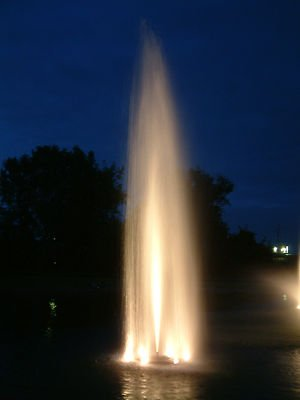 Kasco 2.3JF 400 Floating Display Fountain 2hp 240 volts 3 Phase 400' Cord