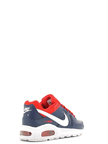 Nike Air Max Command Flex Ltr Gs, Zapatillas de Running para Hombre Azul (Azul (midnight navy/white-university red))