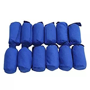Yiwa Hair Rollers 12 Pcs Sleep Nighttime Hair Curlers for All Kinds of Hairstyles
