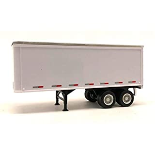 truck_stop HO 1/87 27' Tandem Axle Dry Van - No Converter Dolly Diecast Toy Vehicle