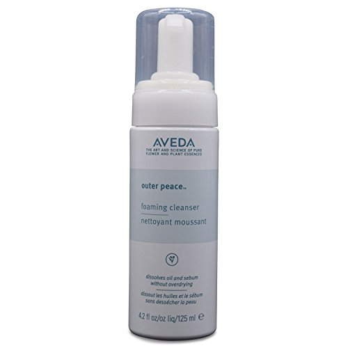 (Aveda Outer Peace Foaming Cleanser 4.2 oz Deeply Cleanses Pores Without Irritating Skin)