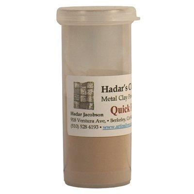 Hadar's Clay Quick-fire Bronze Metal Clay Powder - 100 grams