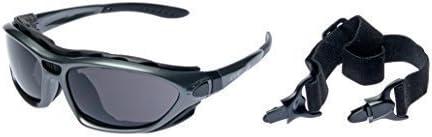 Alpland Protectoras, Gafas de Montaña Lentes de Glaciar Gafas de Esquí con más Alto Protección Solar, Cat 4