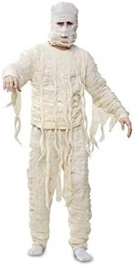 Disfraz de Momia para Halloween hombre talla M-L: Amazon.es ...