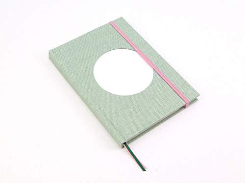 Cuaderno para Bullet journal verde personalizable. Libreta ...