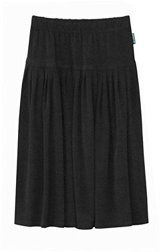 - Baby'O Girl's (Children's) Original Biz Style Below The Knee Length ITY Slinky Knit Skirt