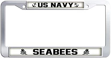 US Navy Seabees License Plate Inc.