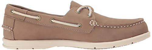 Sebago Donna Litesides Due Eye Shoe In Pelle Color Talpa Scuro