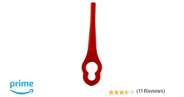 Einhell 3405730 Cuchillas DE Recambio para GE-CT 18 Li (20 Piezas), Rojo, 25 x 60 x 95: Amazon.es: Bricolaje y herramientas