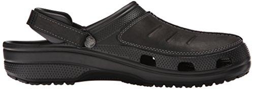 Crocs Mens Yukon Mesa Klomp Zwart / Zwart