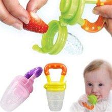 Silicone Baby Feeder Feeding M (Purple) - 8
