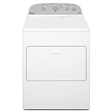 Whirlpool WED5000DW 7.0 cu. ft. White Electric Dryer