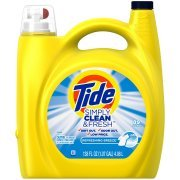 Tide Simply Clean & Fresh HE Liquid Laundry Detergent, Refreshing Breeze Scent 138 fl oz per bottle set of 4