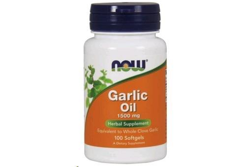 Garlic Oil 1500 100 Softgels