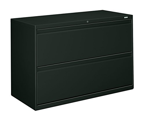 HON 892LS 800 Series 42 by 19-1/4-Inch 2-Drawer Lateral File, (42in Wide Charcoal)