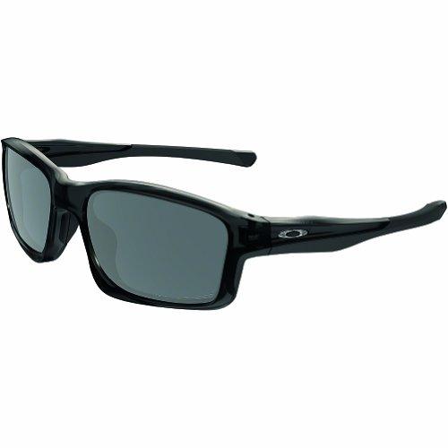 Oakley Men's OO9247 Chainlink Rectangular Sunglasses, Black Ink/Black Iridium Polarized, 57 mm (Cheap Oakleys)