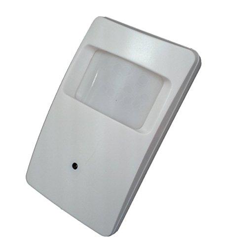 Covert Motion Detector - Kenuco 1080p 4 in 1 HD TVI/CVI/AHD/Analog CVBS Covert Motion Detector Camera with 18pcs IR LED | 3.7mm Lens