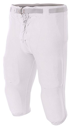 A4 N6141-WHT Game Pants, Large, White ()