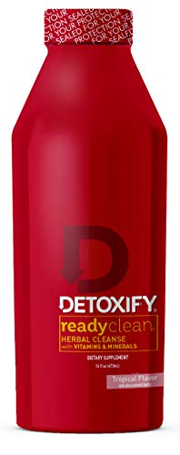Detoxify Ready Clean Tropical Fruit 16 Oz