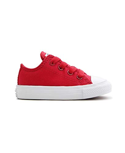Converse Chuck Taylor All Star II Infant Salsa Red Textile 5 M US Infant