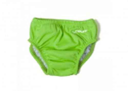 swim diaper solid lime green xl