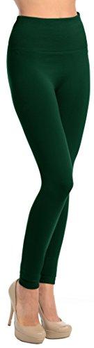 Green Brushed Fleece - 3