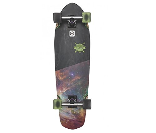 GLOBE Skateboards Big Blazer Cruiser Complete Skateboard, Darkside, 32