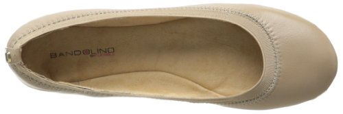 Bandolino Women's Edition Synthetic Ballet Flat Natural roVUoeB2A