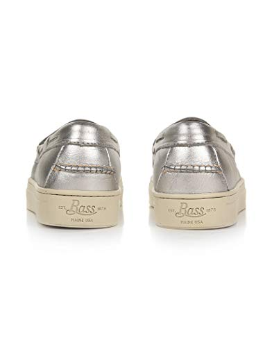 Donna Argento Silver Sneaker Bass G h 7wqaRR