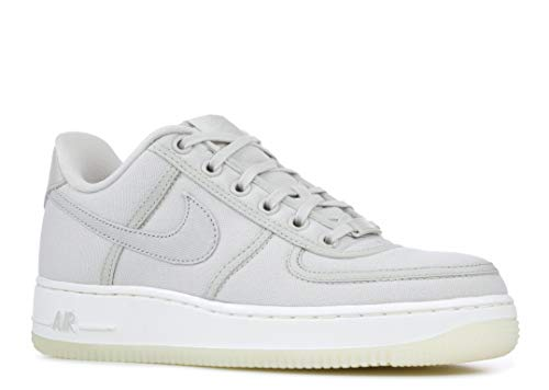 Nike Air Force 1 Low Retro QS Canvas Men's Shoes Light Bone/Sail ah1067-003 (11 D(M) US) ()
