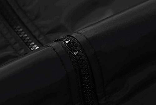 Collar Stand Grigio Casual Leggero Estiva Da Outdoor Vintage Sportswear Haidean Bomber Giacca Giacche Uomo Softshell Schwarz Nero Moderna Funzionale Leisure qzwPP7xIU