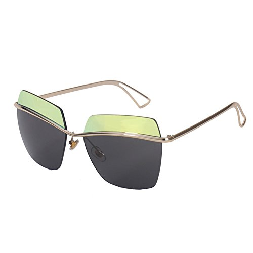 MosierBizne The New Card Is Still Fashionable Ms Yi Rimless Glasses - Custom Sunnies Cutler Gross And