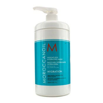 Moroccanoil Weightless Hydrating Mask (For Fine Dry Hair) 1000ml/33.8oz by Moroccanoil