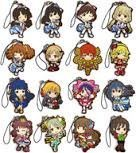The most lottery Idolmaster Cinderella Girls Cinderella's Summer! E Award rubber strap all 16 species (one secret)