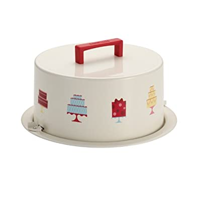 Cake Boss Serveware Metal Cake Carrier