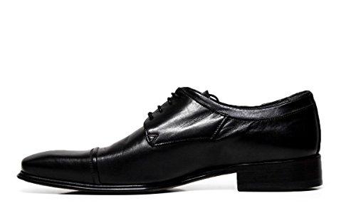 chaussures habillées Cristiano Gualtieri hommes dentelle 695 LINUX NOIR
