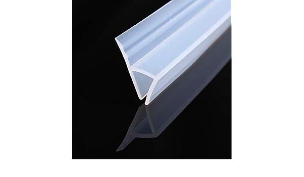 200 cm H Shape – Junta para puerta de ducha, repelente de agua, puerta de cristal para vidrio de 6 mm / 8 mm / 10 mm / 12 mm de grosor: Amazon.es: Bricolaje y herramientas