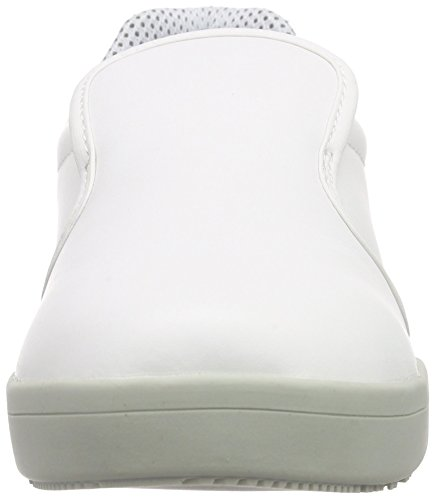 s2 1 White Blanc Mocassins Mixte Chef Sanita San Slipper Adulte wqPgt44