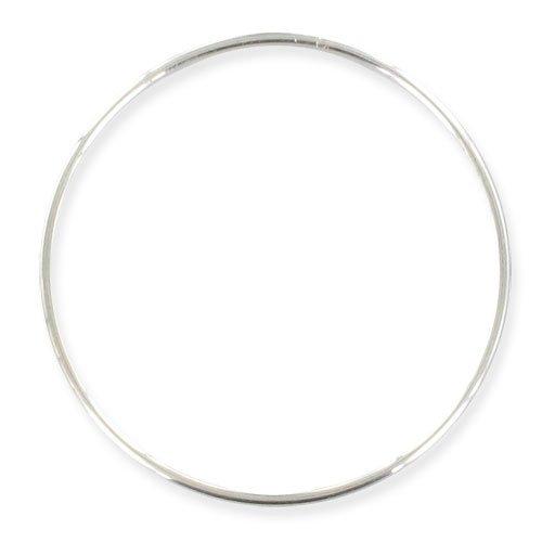 Perles & Co Bracciale jonc 65 mm d' Argento 925 x1