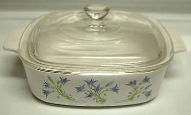 Rare Corning Ware Blue Dusk A-1-B 1 Liter Baking Dish with Glass Lid