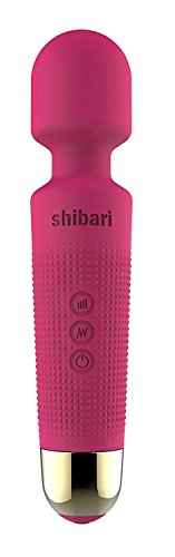 Shibari Mini Halo 20x - Multi-speed - Wireless - Power Wand Massager (Pink)